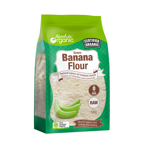 Green Banana Flour 500g | Absolute Organic