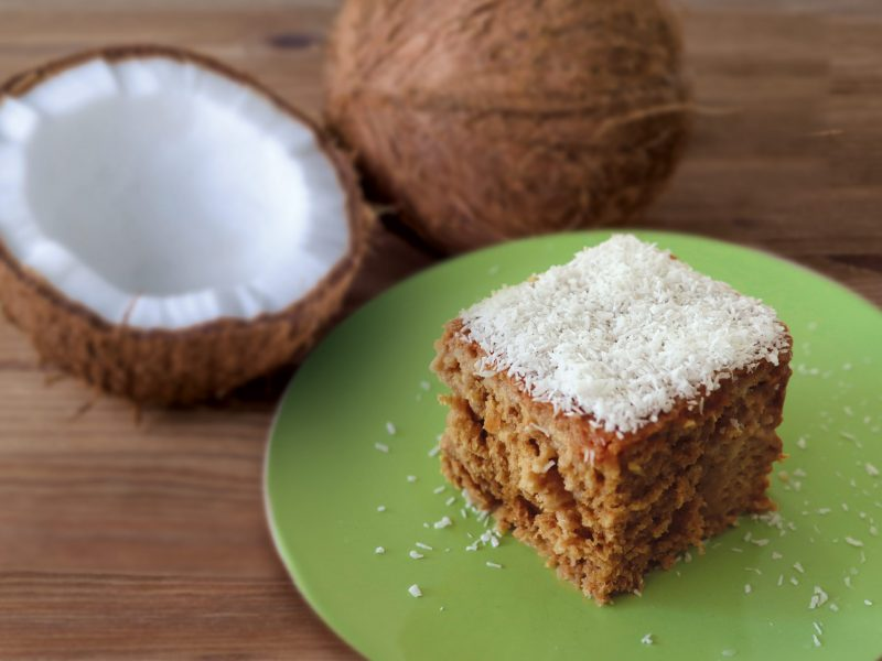 Moist Wholemeal Coconut Cake