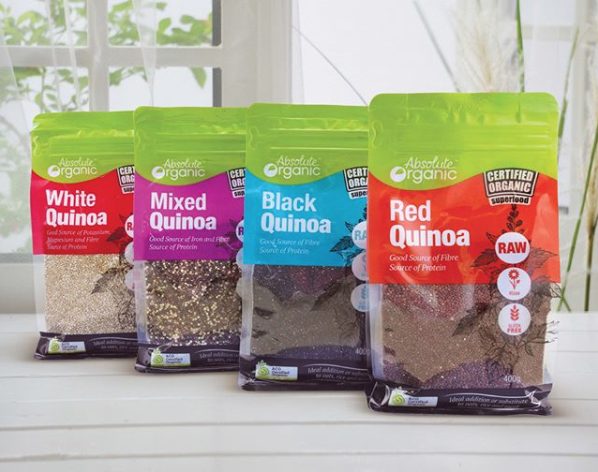 Our Absolute Organic Quinoa Range