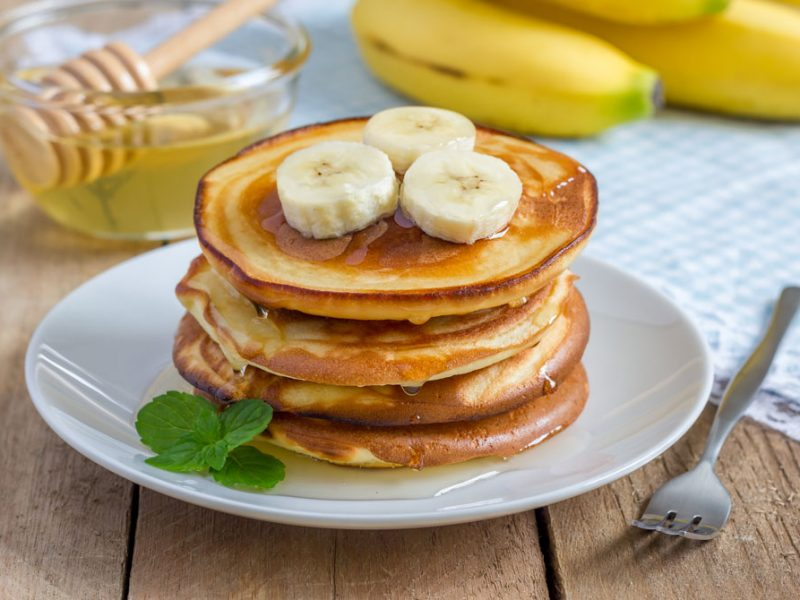 Easy Vegan Banana Pancakes