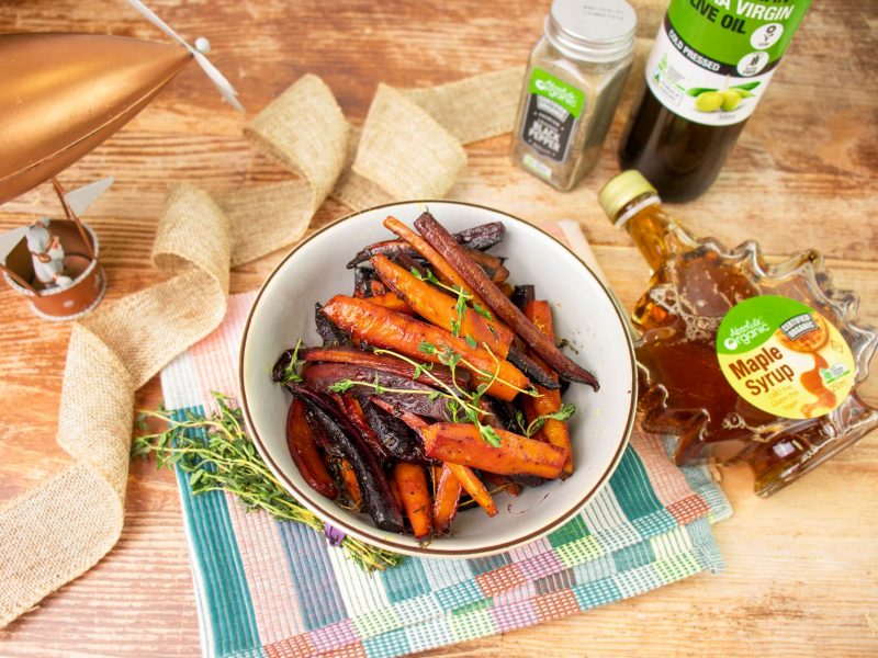 Carrots with Maple Syrup • Christmas Recipe