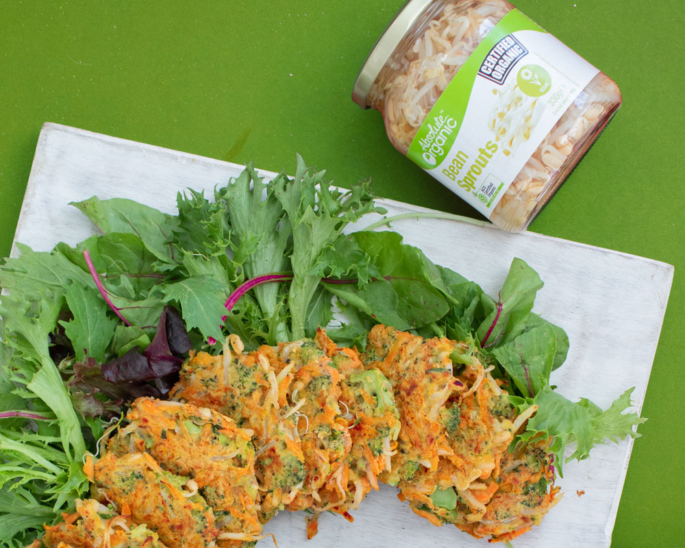 Crunchy GF Sprout Fritters