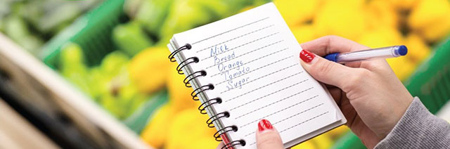 How To Create Your Shopping List?
