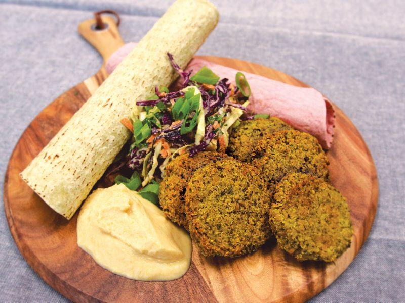 Vegan Falafel Kebabs