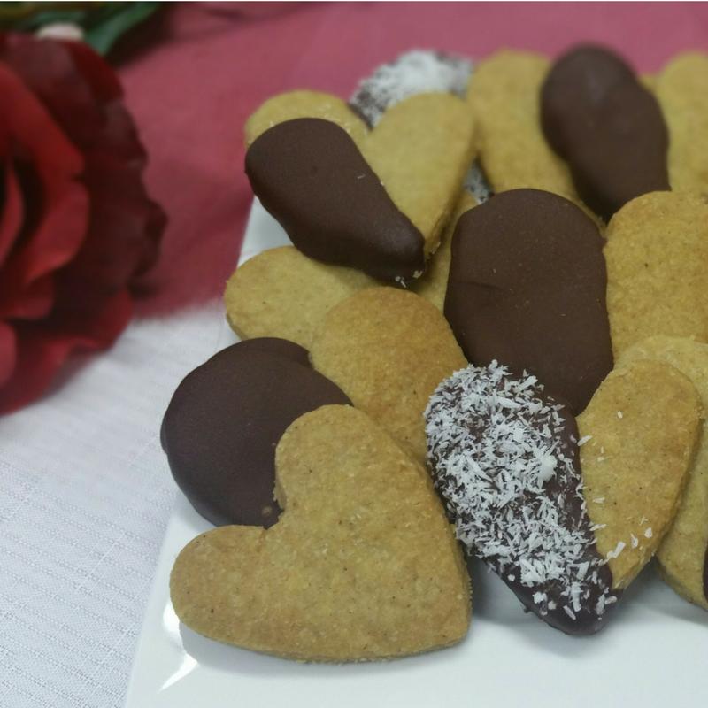 Love Heart Cookies