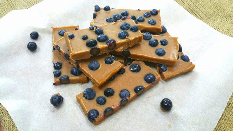 Lucuma Blueberry Fudge