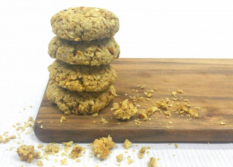 Healthier ANZAC Cookies