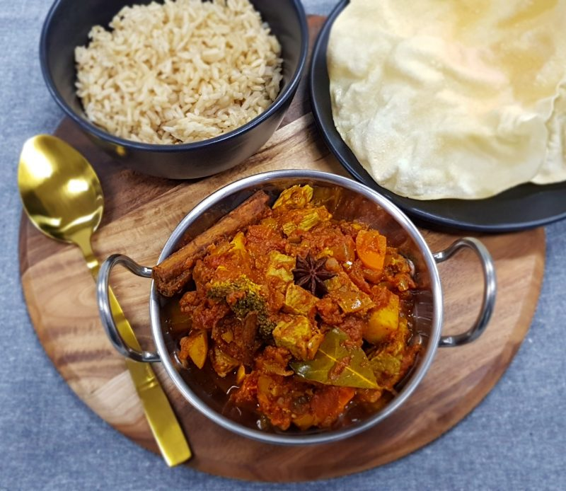 Tomato Tadka Curry