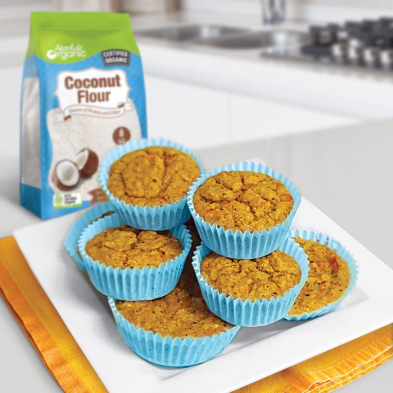 Veggie & Feta Muffins