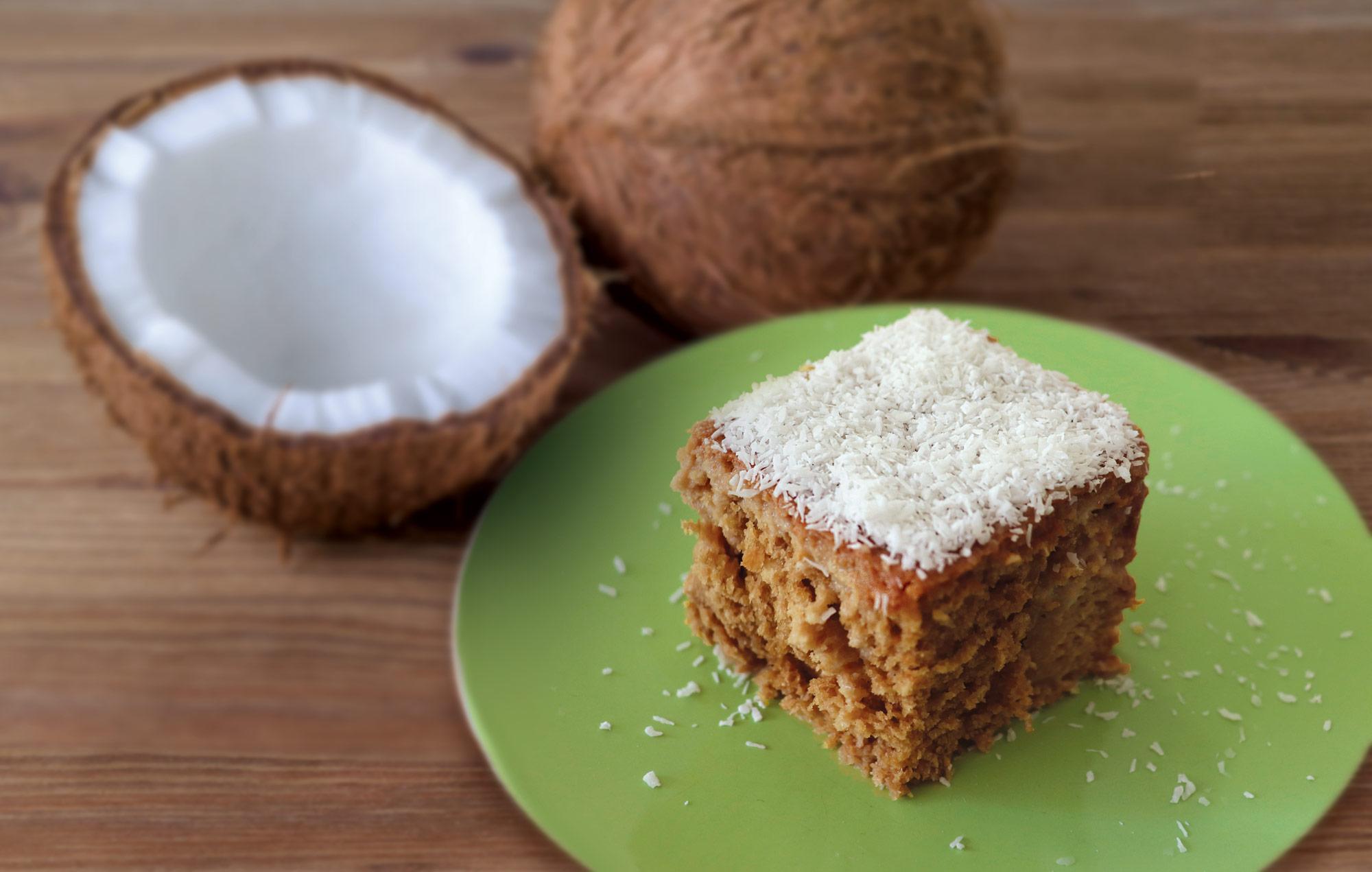 Moist Wholemeal Coconut Cake