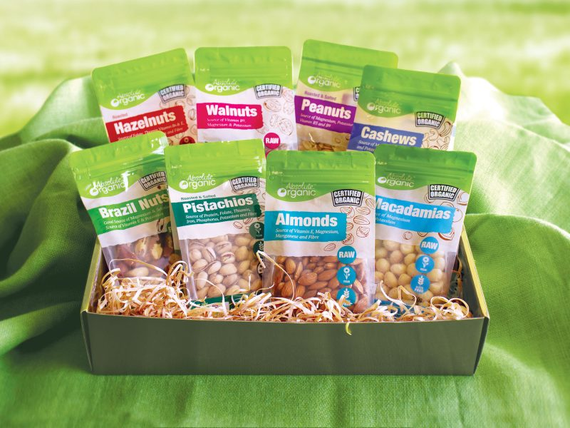 WIN a hamper with our ENTIRE RANGE of nuts