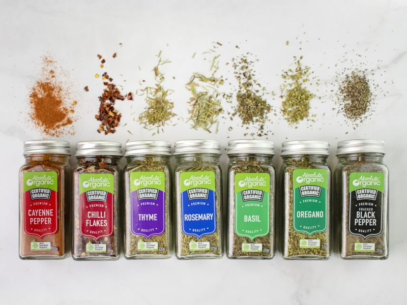 New Herbs & Spices