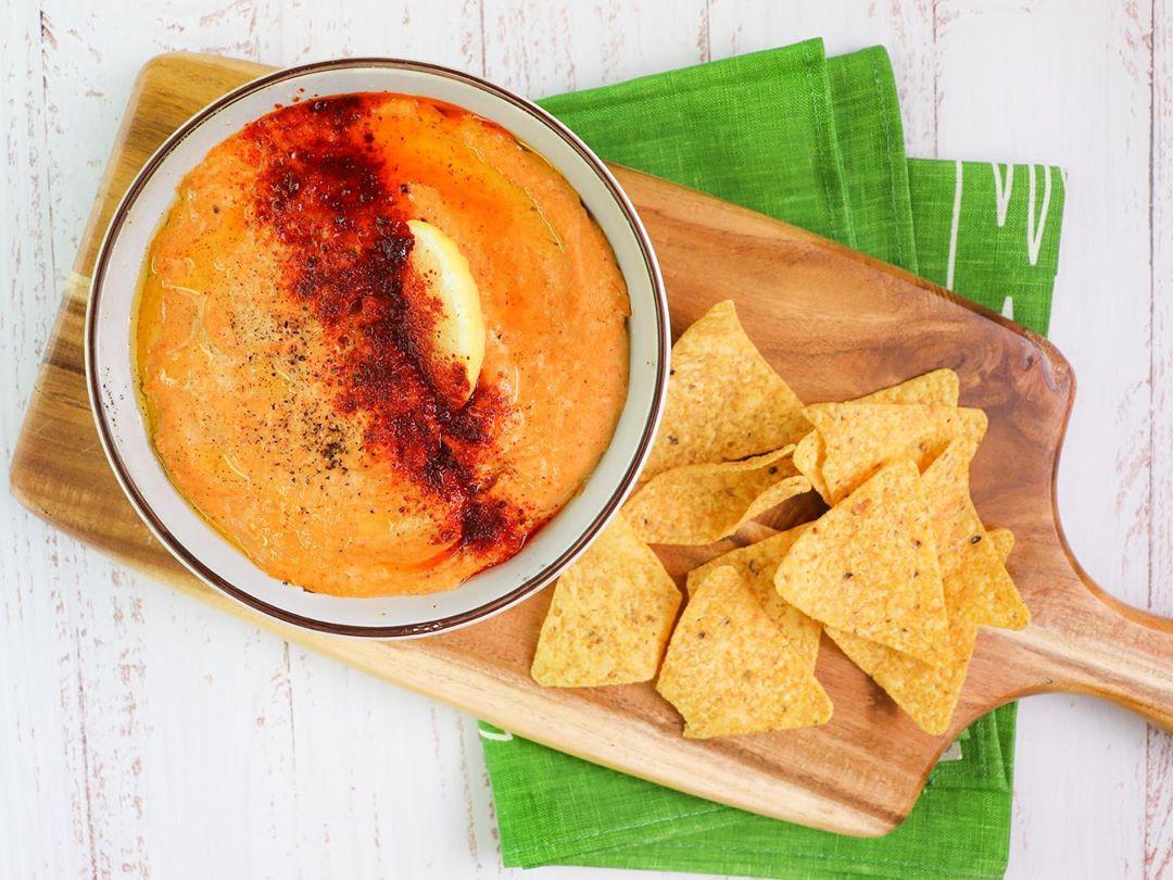 Smoked Paprika Hummus