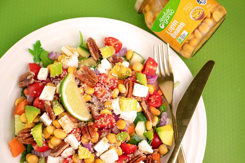 Lupin Salad