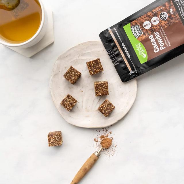Cacao Brownie Bites