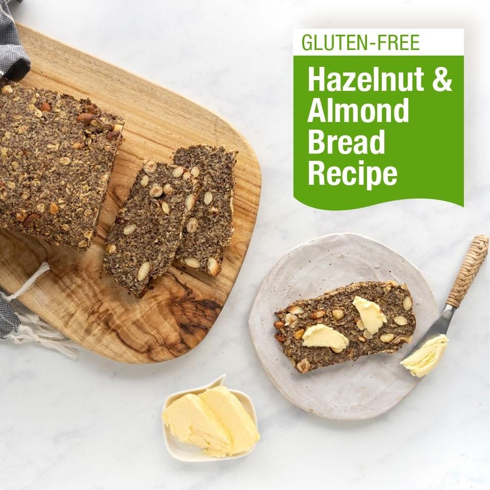 Gluten-Free Hazelnut & Almond Bread